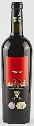 Masseria Barone Melodia Vino Rosso 'Meridio' Primitivo & Syrah IGP Puglia 2015 - 1 bottiglia da 750 ml