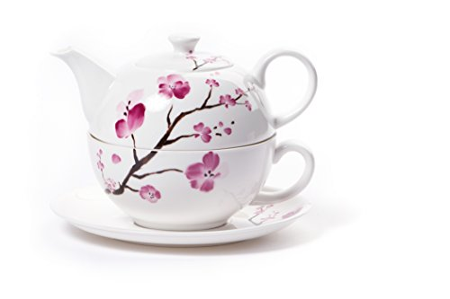 "Shamila Tea for One Set ""Cherry Blossom"""