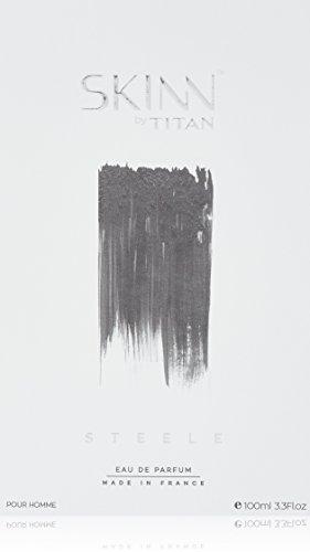 Titan Skinn Men\'s Eau de Parfum, Steele, 100 ml