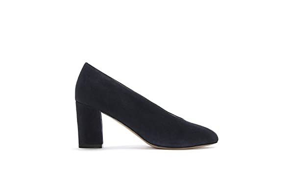 Daniel Aneso Navy Suede V Front Court Shoes 41 Navy Suede