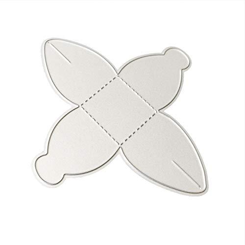 Lazzboy Fustelle Natale Scrapbooking Metallo Stencil Paper Card Craft per Sizzix Big Shot/Altre Macchine(B, Scatola)