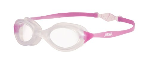 Zoggs Schwimmbrille Athena Back-clip, Rosa (Pink Clear), 307570
