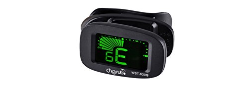 Cherub WST-630G Clip-On Digital Guitar Tuner, 440 Hz A4 Range, Black  available at amazon for Rs.480