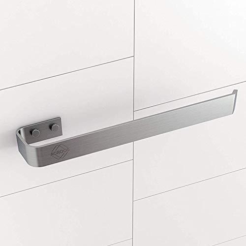 Acroos Handtuchhalter für Badezimmer und Küche, Geeignet für Bade-, Hand- und Geschirrtücher, Stabile Handtuchstange, Platzsparender Aufhänger mit elegantem und modernem Design