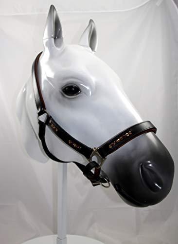 Horsefashion Shop Lederhalfter Coffee (ohne Strick, Pony)