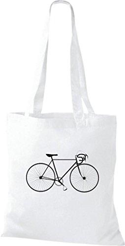 Pochette de vélo bMX roue bonanza sac culte attache plusieurs couleurs Blanc - Blanc