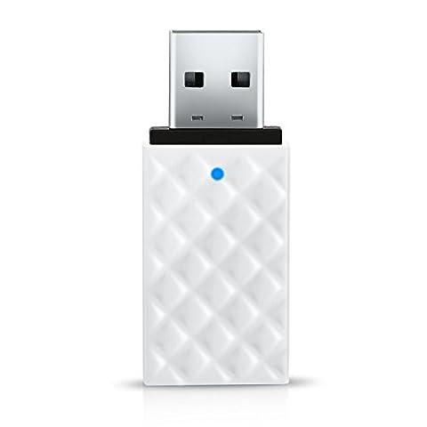 BrosTrend 600Mbps WiFi Dongle USB; AC600 Dual Band; 5GHz Wi-Fi Speed 433Mbps, 2.4GHz 150Mbps; Taille mini, pour ordinateur portable, Bureau de Windows 10 /8.1/8/7/Vista/XP; Carte réseau Internet sans fil (modèle AC2)