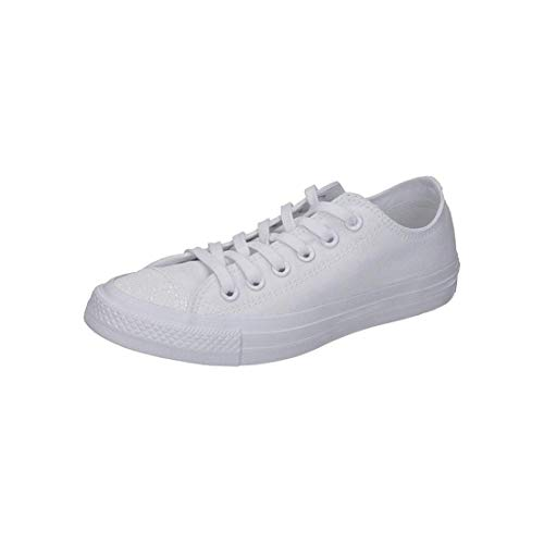 Converse Damen Chuck Taylor All Stars Sneaker Weiß White/Silver 000, 38 EU