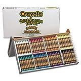 Construcción Papel Crayones, Classpack, Cera, 20 juegos de 8 colores, 160 / B
