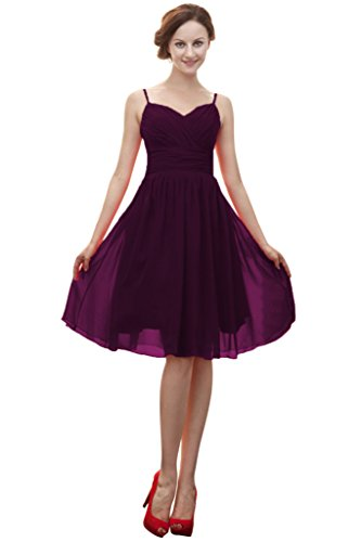 Vimans -  Vestito  - linea ad a - Donna Grape