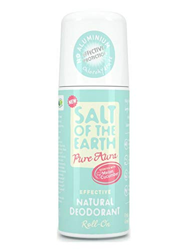 Salt of the Earth Melon and Cucumber Deodorant Roll-On (75ml)