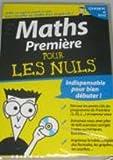 Maths premiere pour les nuls