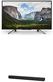 Sony KDL-43WF665 Bravia 109,2 cm (43 Zoll) Fernseher (Full HD, HDR, Smart TV) Plus HT-SF150 2-Kanal Soundbar (