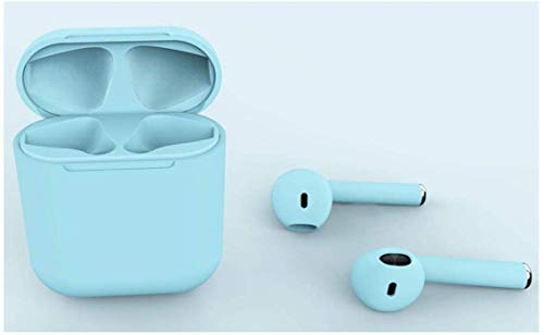 e-Brain Technocrafts inPods 12 TWS Touch Sensor Bluetooth Earphone with Mic (Mild Blue) Image 4