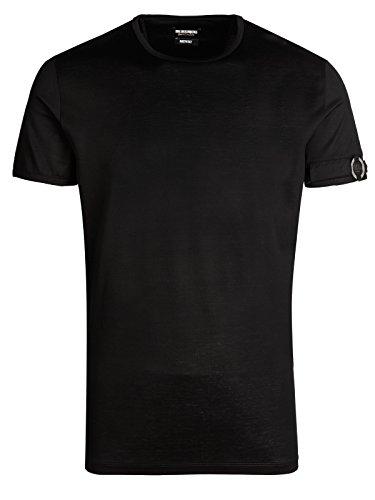 bikkembergs-t-shirt-m-89-ts-47422-luk-lit-leu-black