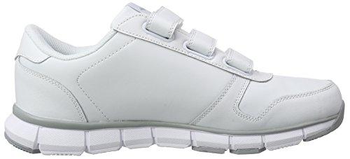 KangaROOS Herren K-Bluerun 700 V B Hallenschuhe Weiß (white/lt grey 002)