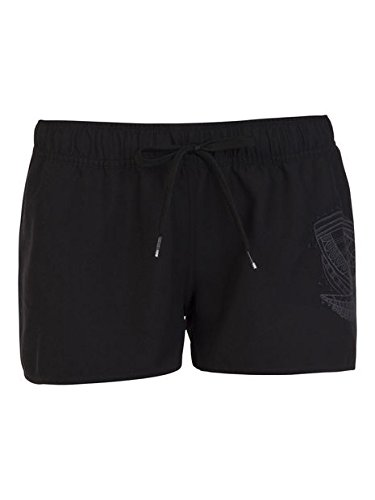 Protest Evidence Beachshort Damen - True Black