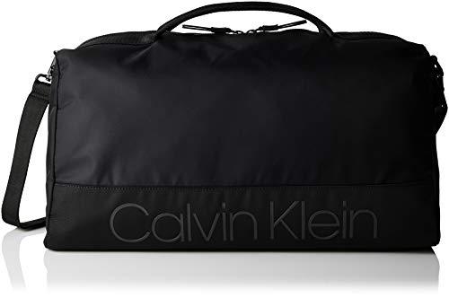 Calvin Klein Herren Shadow Gym Duffle Henkeltasche, Schwarz (Black), 22x27x28 cm -