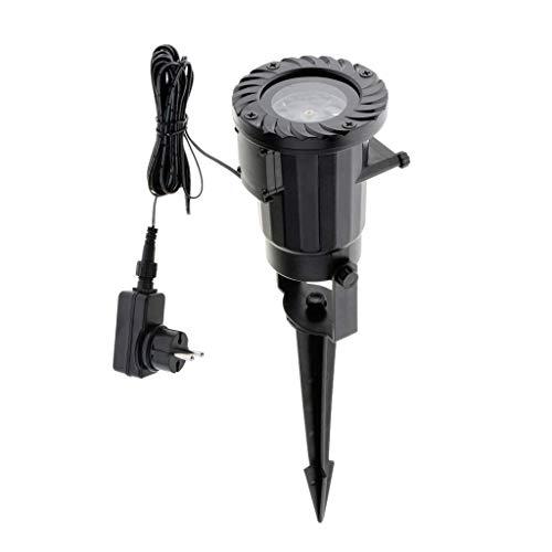 Tubayia Wasserdicht LED Projektor Lampe Projektorlicht mit Fernbedienung für Weihnachten Garten Party Dekoration