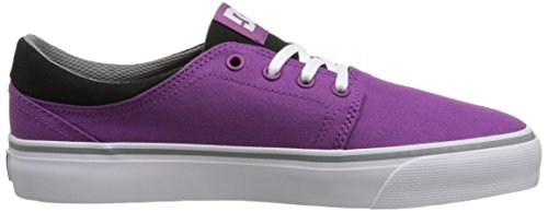 DC Shoes Trase Tx, Baskets mode homme Purple/white