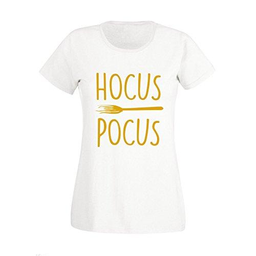 New Childrens Kids Boys Girls Hocus Pocus Haloween Costume T Shirt Top Tee (Kids 13-14 Years) (Kostüme Für Pocus Hocus Kinder)