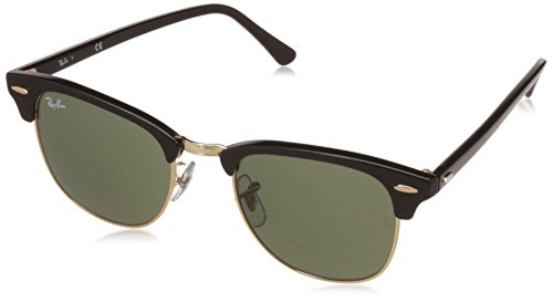 ray-ban-clubmaster-rectangular-sunglasses-black-w0365-ebony-arista