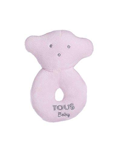 Tous Baby- Oso sonajero, Color Rosa (T.Bear-601_00047_0/36M)