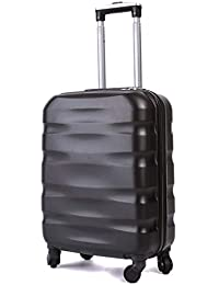55x40x20cm Lightweight Ryanair Maximum Size Carry On Hand Cabin Luggage Suitcase, Bagaglio a Mano Unisex (55cm-31.5L)