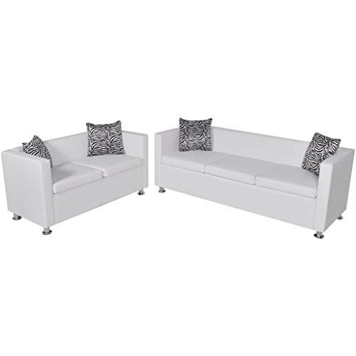 WEILANDEAL Conjunto de Sofas de 2 y 3 plazas y Sillon de ...