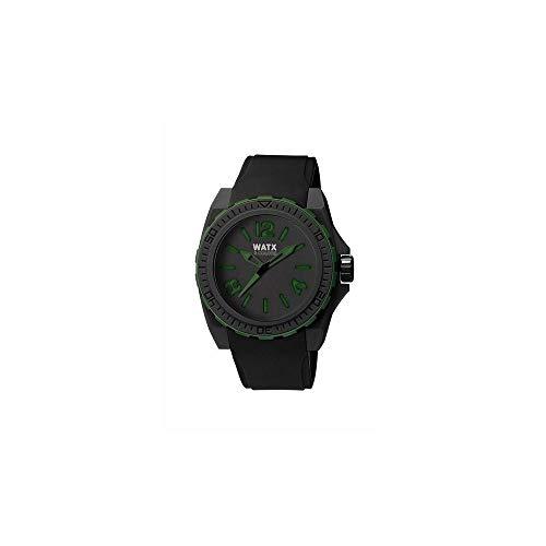Watx Reloj analogico para Hombre de Cuarzo con Correa en Caucho RWA1800