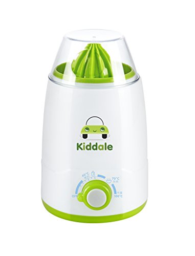 Kiddale High Quality Baby Bottle Warmer cum Sterilizer with Juicer Function and LED light , BPA free with 3 temperature controls