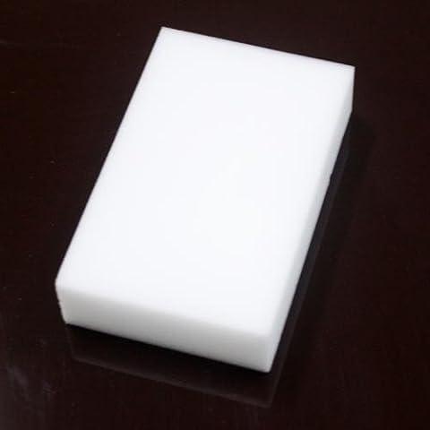 Eponges Magiques - 100pcs multifonction éponge magique Gomme Cleaner Blanc