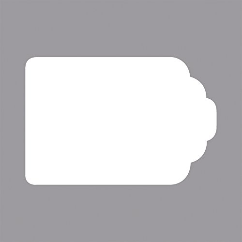 sagoma 4,5/x 1.65/x 0.26/cm Rayher 59858000/Template per Studio We R Pillow Box trasparente