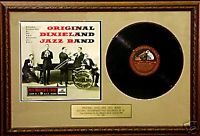 Fabelhafte Band (Original Dixieland Jazz Band–Original selten 25,4cm LP fabelhafte Vorlage)