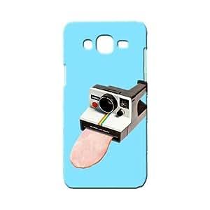 BLUEDIO Designer 3D Printed Back case cover for Samsung Galaxy E5 - G0466
