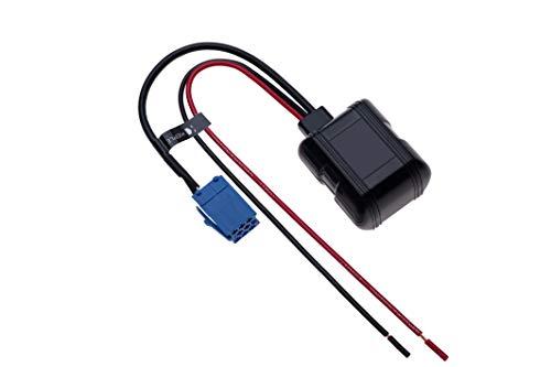 Blaupunkt Auto Bluetooth Modul für 8-poligen AUX In Music Receiver Kompatibel mit VW Volkswagen Audi Becker FIAT Seat Skoda Lancia Fahrzeug Radio Stereo   12V