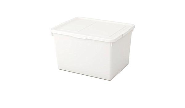 Ikea Sockerbit Box With Lid White Size 15x9 ¾x6 403.160.69