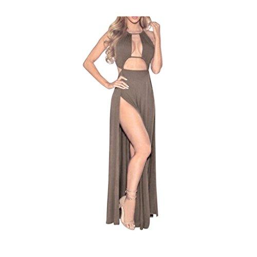 Sommerkleider VENMO @Frauen Verband Bodycon dünnes Sleeveless Abend Partei Bleistift langes Kleid Gary