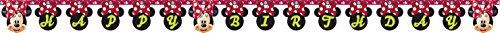 (Moderne Wimpelkette/Flagenkette mit Aufdruck von Disneys Minnie Maus, 2,6m lang)