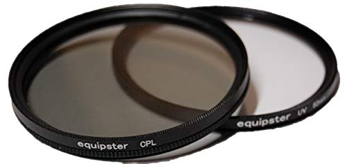 equipster UV + Polfilter Set für Sony DT 18-55mm f3.5-5.6 SAM (SAL-1855)