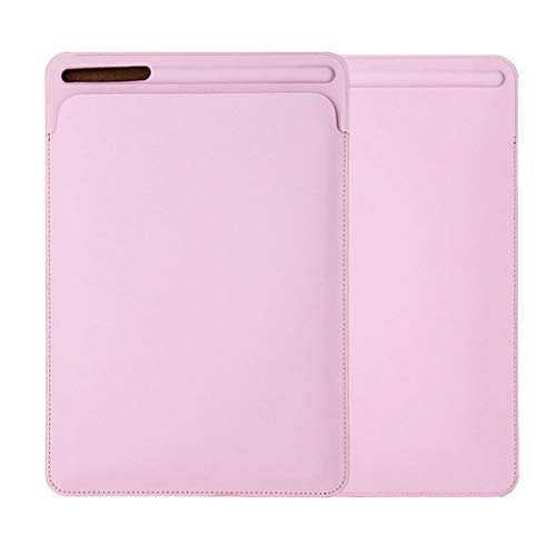 Rosa Leder Wohnungen (squarex Schutzhülle Tablet Hülle Tasche Lederhülle Tasche für iPad Air 10.5 Zoll 2019 Anti-Fall Leder Halter für Wohnung (Rosa))