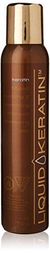 Liquid Keratin Keratherapy Volumizing et revitalisant Shampooing sec
