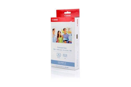 Original Tinte passend für Canon Selphy CP 500 Canon KP-36 IP , KP-36IP7737 A 001 , 7737A001 , 7737A001AB - Premium Drucker-Patrone - 36 Seiten