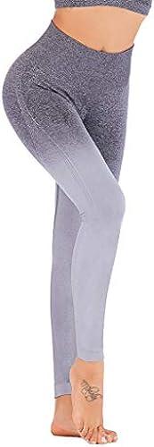 Damen Mehrfarbig Leggings Sporthosen& 65292; LeeMon Yoga Leggings Compression Slim Ombre Gym Nahtlose Leggings Sport...