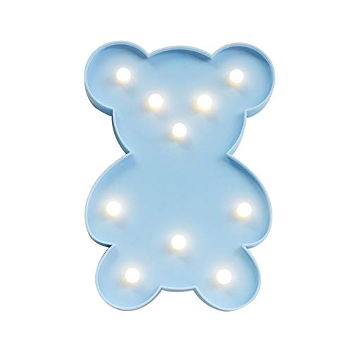 cht Bär Led Style Light Night Light Blue ()