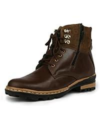 Bacca Bucci Men Brown PU Boots