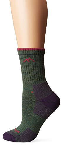Darn Tough Vermont Gepolsterte Damen-Socken aus Merino-Wolle Small Moss Heather