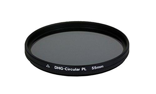 Dörr DHG Zirkular Polfilter 55 mm mit extrem flacher Filterfassung/beidseitige 10-fache Mehrschichtvergütung