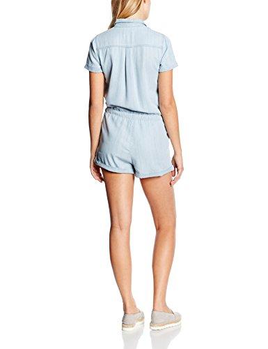Mexx Damen Jumpsuits Blau (MATHILDA WASH D00112)