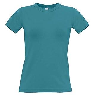 B&C - Ladies T-Shirt 'Exact 190 Women' XS,Diva Blue